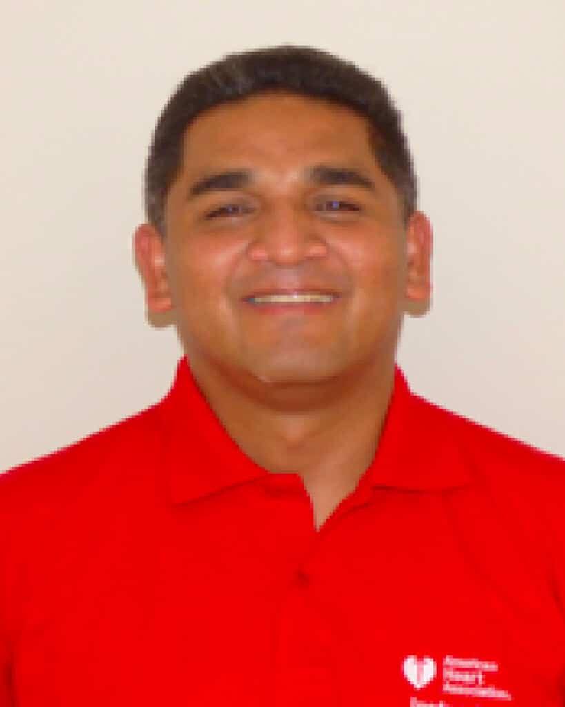 Rescatista Omar Carbajal