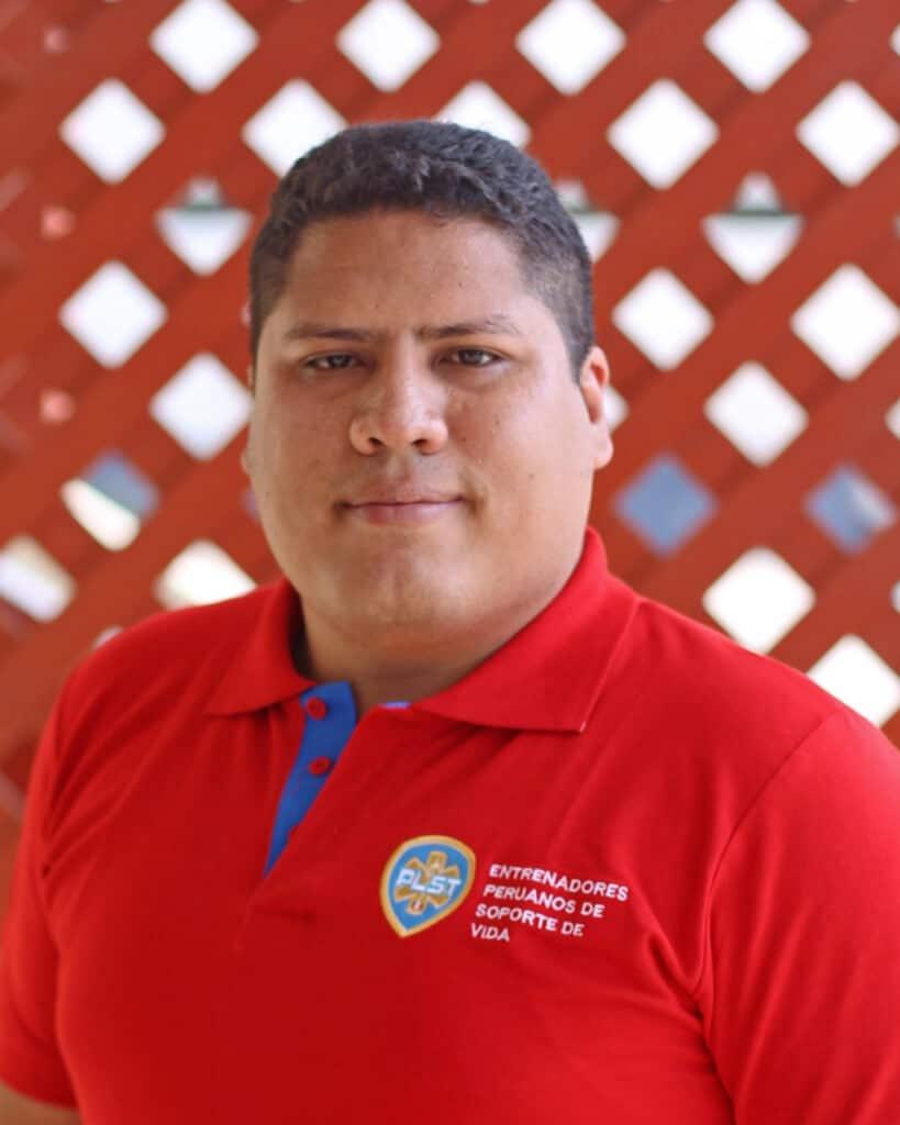 Bombero Guillermo Santana